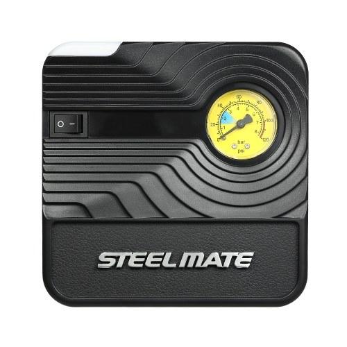 Steelmate 12V DC tragbare Luftkompressorpumpe für Kraftfahrzeuge Reifenfüller für Auto-Fahrradkugel-Schlauchboote
