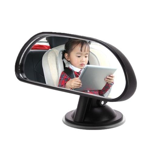 Vislone Baby Car Mirror Espejo retrovisor Convexo Wide View Ventosa Espejo