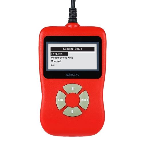 KKmoon OBDII EOBD Ferramenta de verificação de diagnóstico de carro Code Read Scanner Diagnostic Trouble Codes