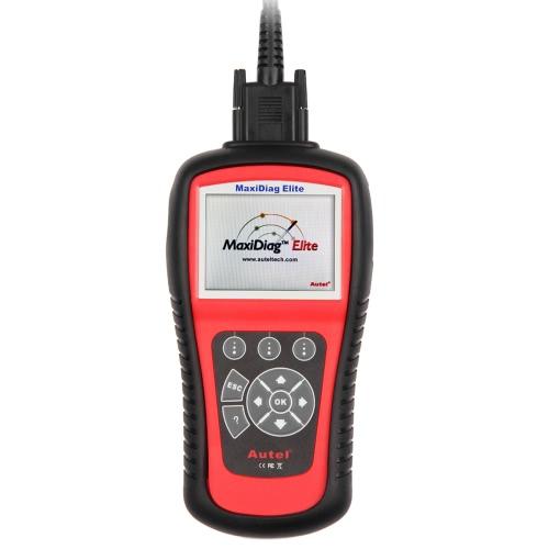 Autel MaxiDiag Elite MD703 OBDII автомобилей кодекса сканера 4 Система двигателя ABS Подушка коробки передач Диагностический инструмент для сканирования Форд GM Chrysler