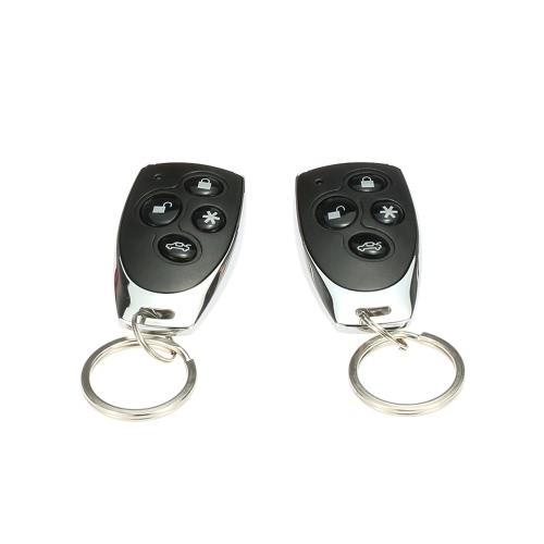 Système de sécurité anti-intrusion universelle pour véhicules Alarme Protection anti-vol système 2 à distance