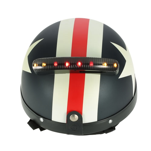Motorcycle Wireless 12V Casque LED clignotants Lumière feu stop frein universel