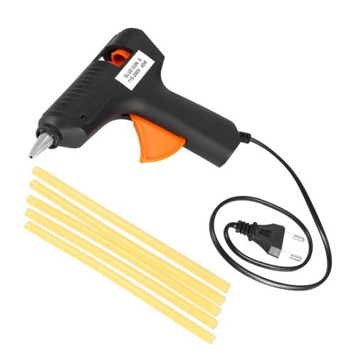 110-240V 40W Горячий расплав Клей-пушка Paintless Dent Repair Tool w / 5pcs Клей-палочки