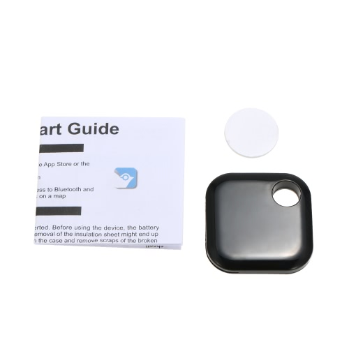 Ultrathin Smart Key Finder Locator Śliczny telefon dla zwierząt domowych Black