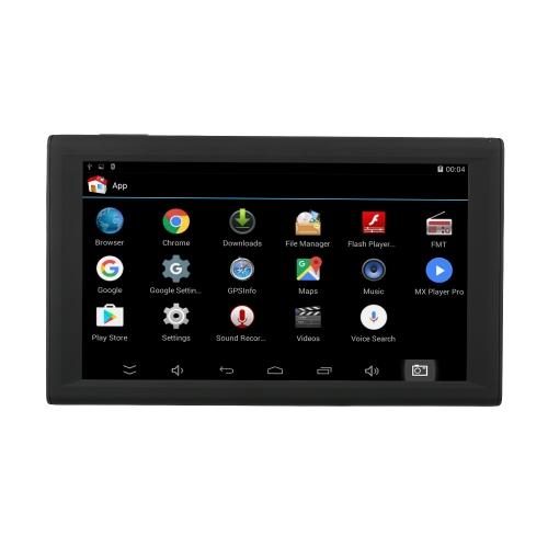 KKmoon 9inch تابلت نظام ملاحة GPS نظام أندرويد الذكية 16GB سيارة ستيريو محمولة مشغل الصوت الوسائط المتعددة الترفيه Wi-Fi BT FM USB / SD خريطة مجانية