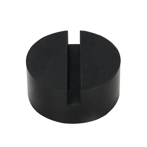 2pcs Universal Slotted Rubber Jack Pad Frame Rail Protector Altura de 1,4 polegadas