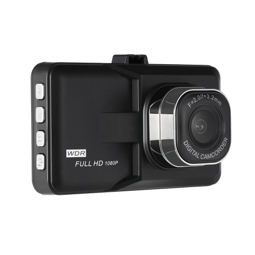 Image of 1080P High Resolution Definition Video Car Vehicle 140 Degree Wide Angle Camera DVR