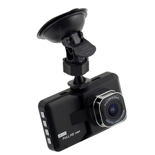 1080P High Resolution Definition Video Car Vehicle 140 Degree Wide Angle Camera DVR Night Vision Recorder with 32GB TF Card Digital Camcorder
