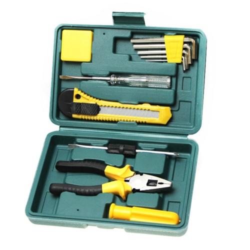11PCS Vehicle Maintenance Kit Stainless Steel Emergency Repair Kit