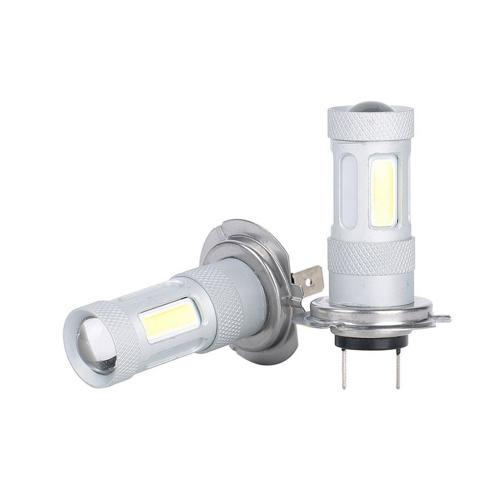 2 Pcs High Power COB LED Fog Light H7 Car Driving Lamp