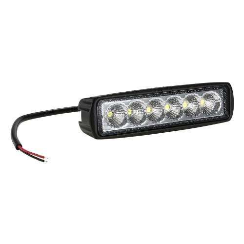 Reflector del coche de la luz del trabajo del 12V 18W LED que conduce la niebla del camino para el camión del barco de SUV 4WD