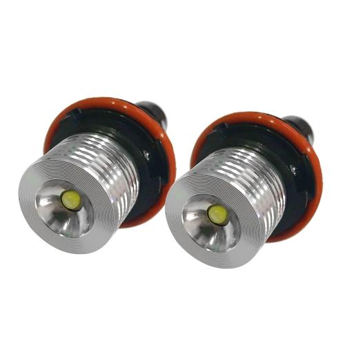 Red LED Bulbs For BMW Angel Eyes Halo Ring Marker Light X5 E39 E60 E63   E64 E53