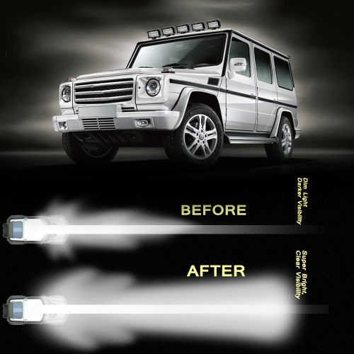 KKmoon 2Pcs 5inch 72W LED Light Bar Spot Beam Work Light Driving Fog Light Road Lighting for Jeep Car Truck SUV Boat Marine