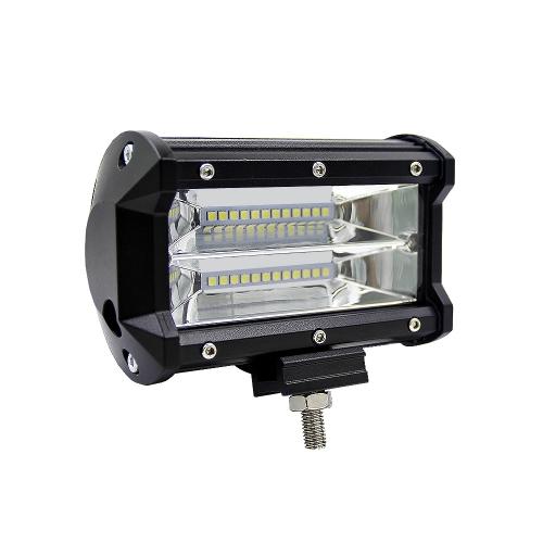 5inch 72W LED Light Bar Spot Beam Work Light Driving Fog Light Road Lighting for Jeep Car Truck SUV Boat Marine