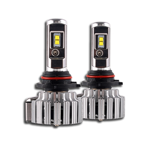 Nighteye 9000LM 9006 HB4 LED headlight light bulbs replace halogen xenon   6000K