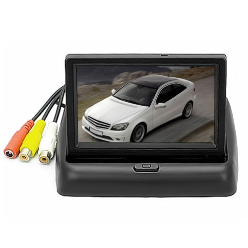 4.3in Multifuncional Auto In-dash Monitor Backup Camera Video Player Met Car DVR