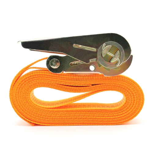 13 FT Porable Heavy Duty Tie Down Cargo Strap Bagaż Mocowanie Strong Ratchet Belt Belt with Metal Buckle