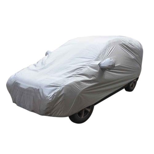 Couverture de voiture SUV Couverture Sun Shade UV Protection Antidéflagrant Couverture de neige Protecteur contre le vent / antipoussière / résistant aux rayures Full Carovers
