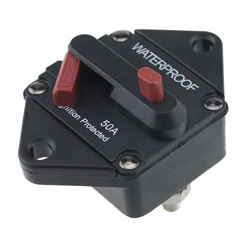 Protección de sobrecarga a prueba de agua del interruptor automático con el interruptor de reajuste manual para el acoplado de la caravana del camión del autobús del coche