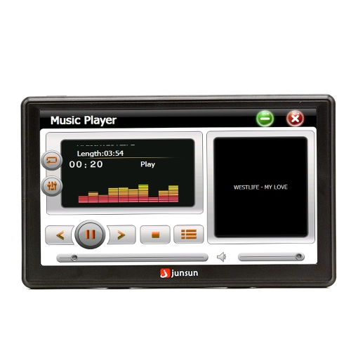 Multifunction BT Car Multi-media Player Navigation with Free Maps