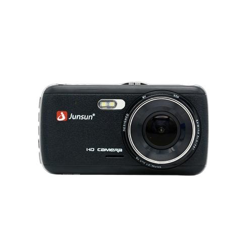 Junsun H7 IPS Câmera DVR de carro de 4