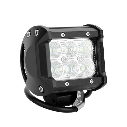 18W Easy Installation LED Lampada Automobile LED light Truck Veicoli fari Faretti da fondo per auto Faro anteriore