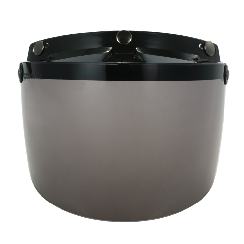 Универсальный 3 Snap Flip Up Visor Shield Lens для ретро-шлема для мотоциклов с открытым лицом