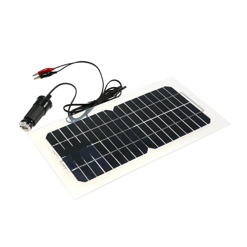 18V 5.5W 31.5 × 16.5 × 0.15CM شبه مرنة الألواح الشمسية مع الكابلات