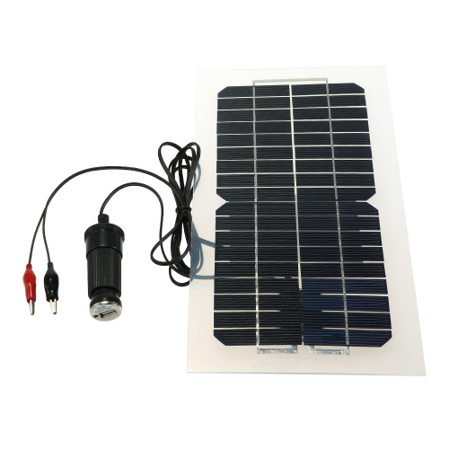18V 5.5W 31.5 x 16.5 x 0.15CM Panel solar semi flexible con cables