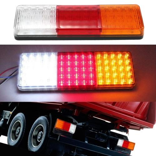 2X 75 LED cauda luzes reboque caravana caminhão barco parada indicador