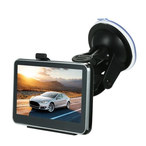 Anuncio de voz de la pantalla táctil del navegador de navegación del GPS de 4.3 pulgadas del coche DDR128M + 4GB