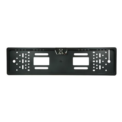 CCD HD Cámara de visión trasera de copia de seguridad Inversión Universal de la matrícula Marco de visión nocturna con LED