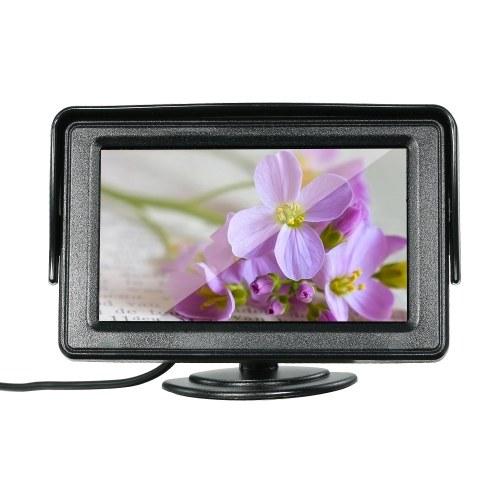 4.3 بوصة TFT شاشة ملونة شاشة LCD سيارة Dashiboard شاشة مراقب وقوف السيارات