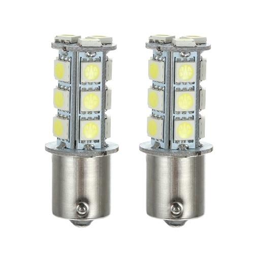1156 18SMD 5050 White LED Turn Signal/Back Up Light Bulb Lamp,2 Packs