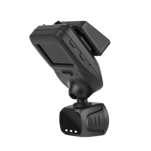 ミニダッシュカムQ9レンズ付き1.5インチ画面の車DVRカメラは330度を回転させる