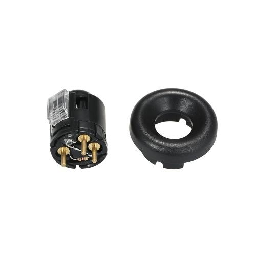 Getriebe Overdrive Lockout Switch Schalthebel Knopf & Kappe Lünette Für Ford Griff Lünette Cap Ring