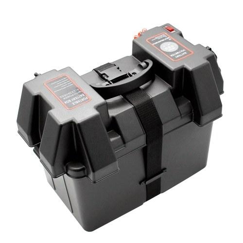 Многофункциональная машина 12V аккумулятор Box USB Автомобильное зарядное устройство со светодиодным вольтметром Экран дисплея для автомобиля Грузовик Лодка Прицеп