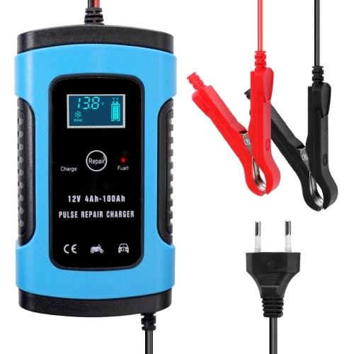 12V 6A Полностью автоматическое автомобильное зарядное устройство Интеллектуальная быстрая зарядка Импульсные зарядные устройства для ремонта