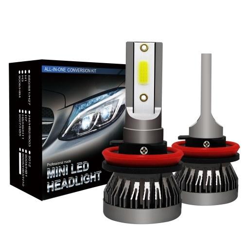2Pcs Car H11 LED Headlight Bulbs Conversion Kit