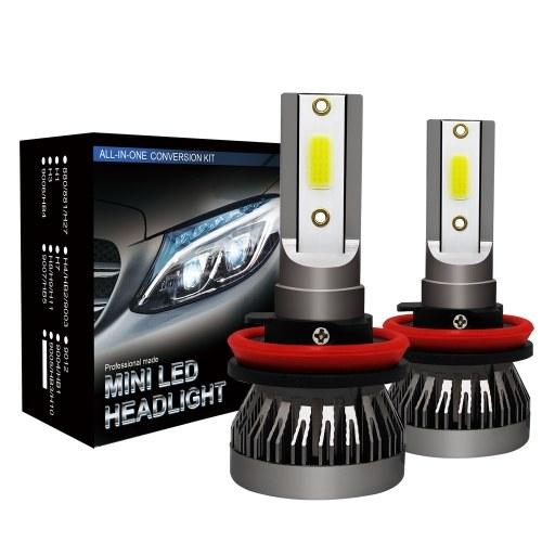 2Pcs Автомобильный H11 Комплект для преобразования лампочек светодиодных фар