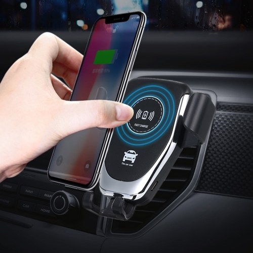 10W QI Wireless Fast Charger Car Mount Holder