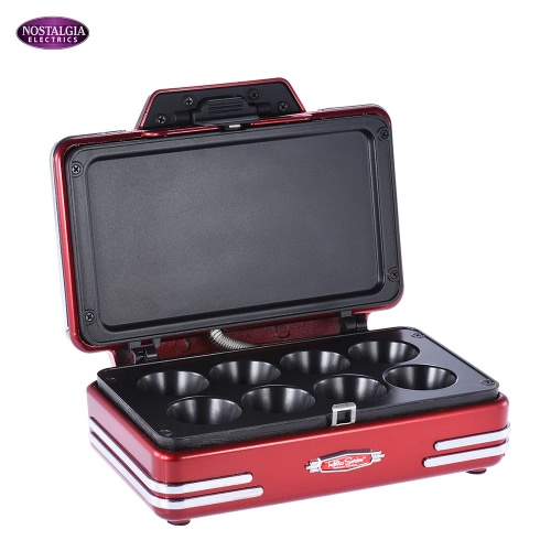 Ностальгия RCKM700 50s Стиль бытовой электрический Mini Cupcake Maker машина