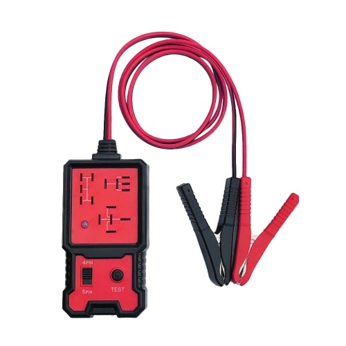 12 В Автомобильный Аккумулятор Проверка Электронного Реле Тестер с Зажимами Авто Реле Диагностический Инструмент