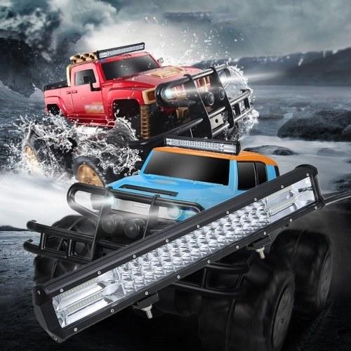 Luzes de névoa de SUV do trabalho combinado do feixe do ponto de inundação da barra clara do diodo emissor de luz