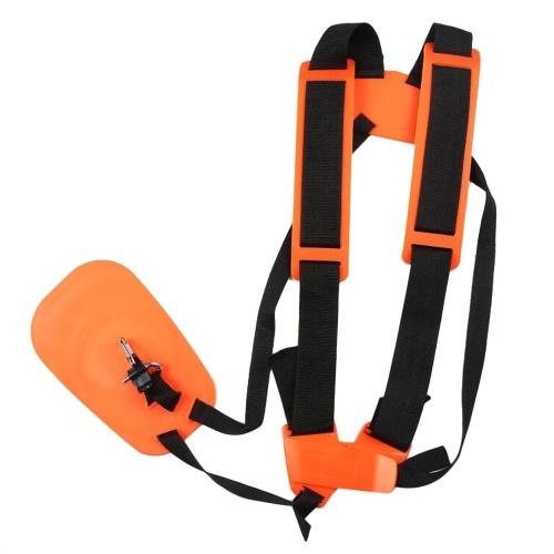 Double Shoulder Trimmer Shoulder Strap with Easily Adjustable for Brush Cutter Garden Lawn