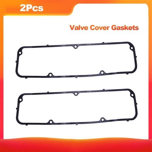 """Guarnizioni di copertura valvole in gomma con nucleo in acciaio motore da 3/16 """"da 2 pezzi per Ford FE 352 360 390 406 427 428"""