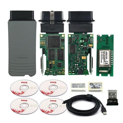 VAS 5054 V-4.4.10 AMB2300 VAS 5054A BT ODIS OKI Keygen Диагностический сканер Инструмент Поддержка UDS
