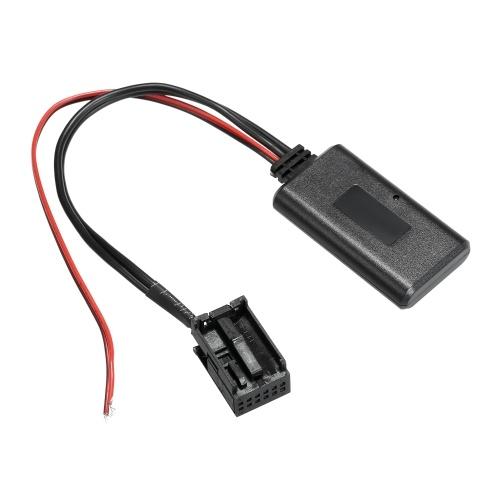 Coche AUX-in BT Adaptador Audio Música Receptor 12PIN Reemplazo para BMW X5 X3 Z4 E83 E85 E86 E39 E53