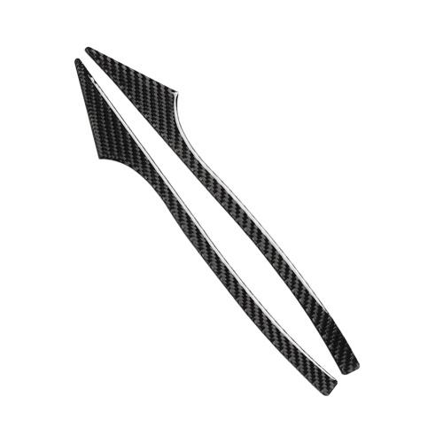 Углеродное волокно, антиколлизионная лента, зеркало заднего вида, защитное покрытие от царапин, для BMW E60 F10 F07 F01 5 серии