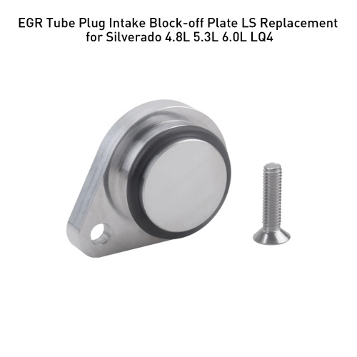 LS Delete Intake Exhaust Block Off Plate For Silverado 4.8L 5.3L 6.0L LQ4 R